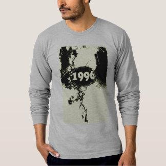 1996 - Zwarte Vintage retro - T-shirt