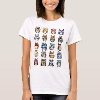 19 uilen en 1Cat T Shirt