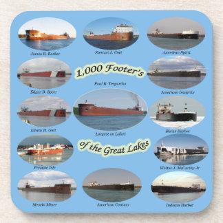 1.000 voet vrachtschepen op het Grote onderzetter