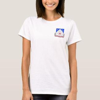 1-87 CREST van de Eenheid van de infanterie T Shirt