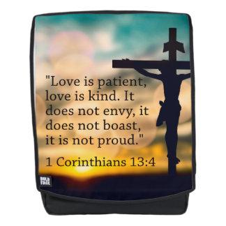 1 Corinthians 13:4 - de Liefde is Geduldig Rugtassen