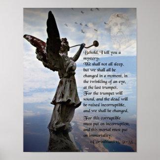 1 Corinthians 15; 51-53 Poster