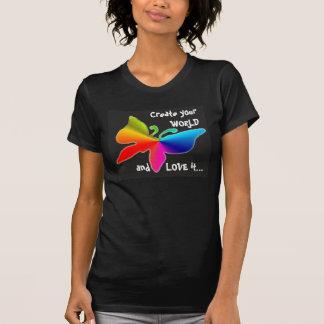 1, Creëer uw WERELD en HOUDT van het… T-shirt