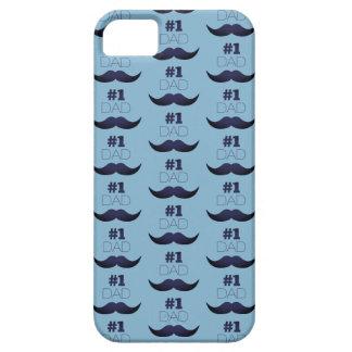 #1 de Blauwe Snor van de papa - Aantal Barely There iPhone 5 Hoesje