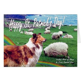 1. De geweldige St Patrick van de Kust van Ierland Briefkaarten 0