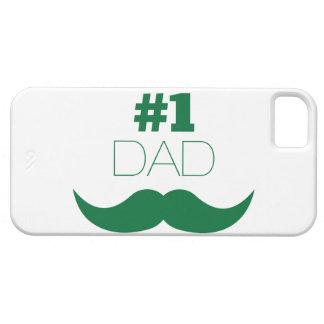 #1 de Groene Snor van de papa - Aantal Barely There iPhone 5 Hoesje