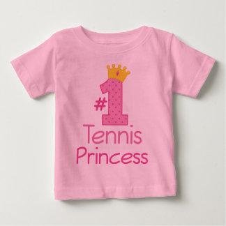 #1 de Prinses van het tennis Baby T Shirts