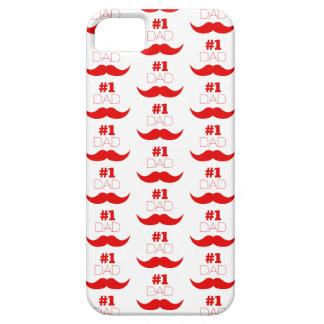 #1 de Rode Snor van de papa - Aantal Barely There iPhone 5 Hoesje