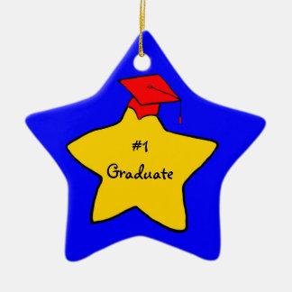 #1 gediplomeerd herinneringornament keramisch ster ornament