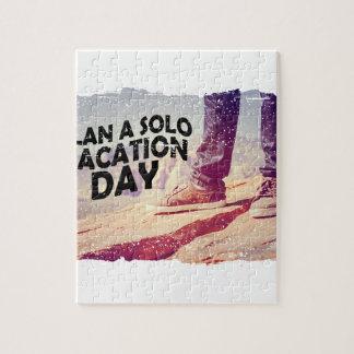 1 Maart - plan solo een Dag van de Vakantie Foto Puzzels