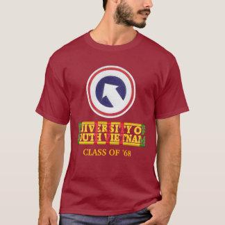 1st Logboek. Cmd - Universiteit van Overhemd het T Shirt