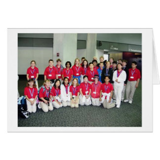 2005 San Jose, de Delegatie van CA het UK Kaart