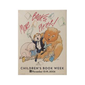 2006 het Houten Poster van de Week van het Boek