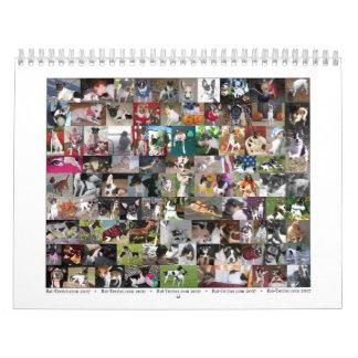 2007 de Kalender van Terrier van de Rat