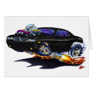 2008-10 de Zwarte Auto van Eiser Briefkaarten 0