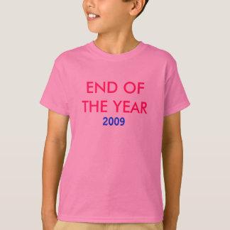 2009, EIND VAN HET JAAR T SHIRT