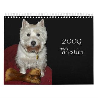 2009 Westies Kalender