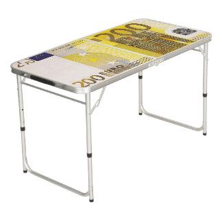 200 euro beer pong tafel
