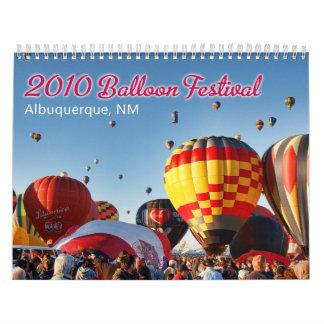 2010 Albuquerque, het Festival van de Ballon van Kalender