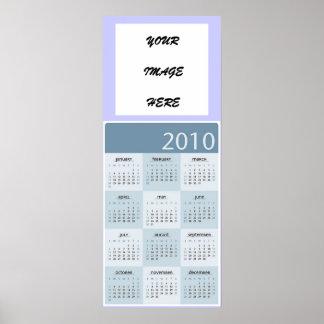 2010 KLANTGERICHTE HET POSTER VAN DE KALENDER