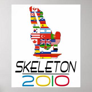 2010: Skelet Poster