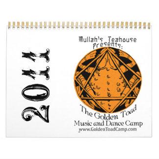 2011 de Gouden Kalender van het Kamp van de Pad
