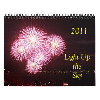 2011 Licht omhoog de Hemel Kalender