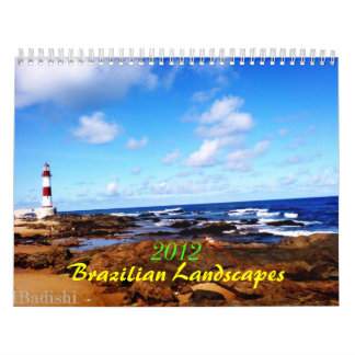 2012 Braziliaanse Landschappen Kalender