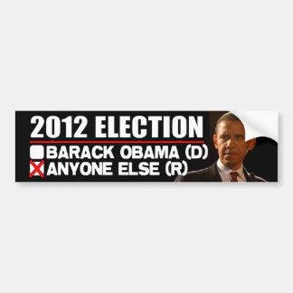 2012 Verkiezing - AntiObama Bumpersticker