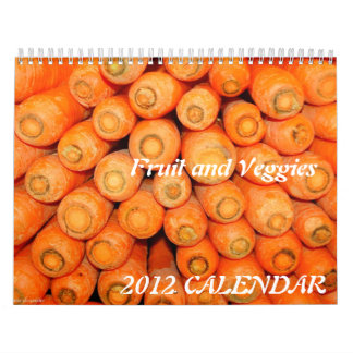 2015 Kalender - Fruit en Veggies