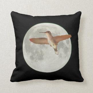 2015 Super Maan met Zoemende vogel Sierkussen
