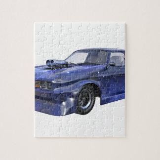 2016 Auto van de Spier van de Ster de Blauwe Legpuzzel