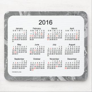 2016 de Kalender van de Vakantie door Janz het Muismat