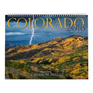 2016 de Schilderachtig Kalender van Colorado