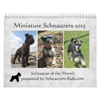 2016 Kalender Schnauzer
