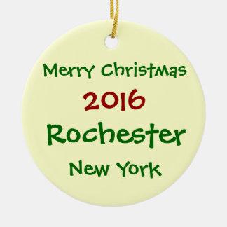 2016 ORNAMENT VAN KERSTMIS VAN ROCHESTER NEW YORK