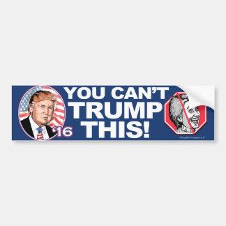 2016 Troef Deze anti-Hillary Clinton Bumpersticker