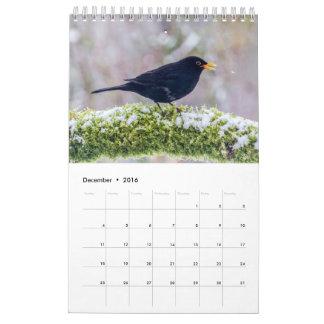 2017 de Britse Kalender van de Vogel