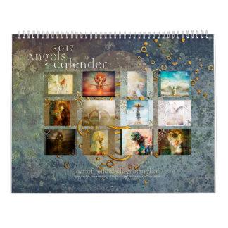 2017 de Kalender van engelen