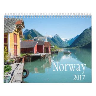 2017 de kalender van Noorwegen