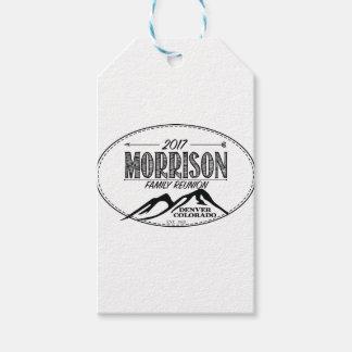 2017 de Punten van de Bijeenkomst Morrison - Cadeaulabel