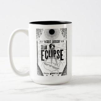 2017 de showprint-Stijl van de Verduistering de Tweekleurige Koffiemok