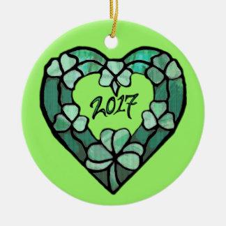 2017 het Ornament van het Hart van de Klaver