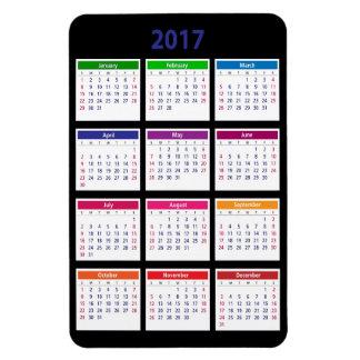 2017 Klantgerichte Groot van de Kalender van de Magneet
