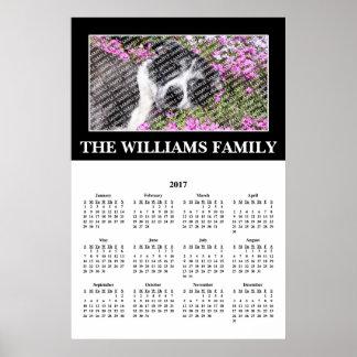 2017 Uw Favoriet Poster van de Kalender van de