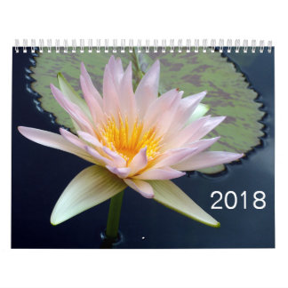 2018 de Kalender van bloemen