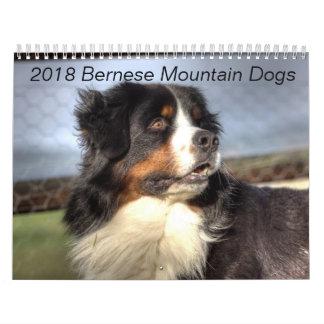 2018 de Kalender van de Hond van de Berg Bernese