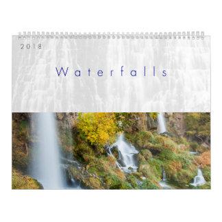 2018 de Kalender van watervallen
