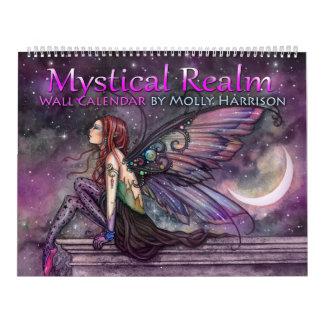 2018 de Mystieke Kalender van de Fee van de