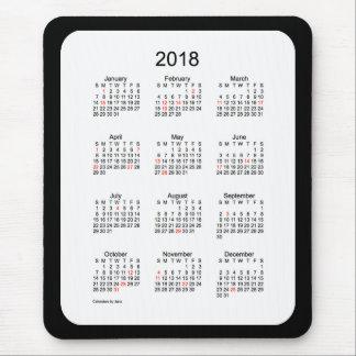2018 de Zwarte Kalender van de Vakantie door Janz Muismat